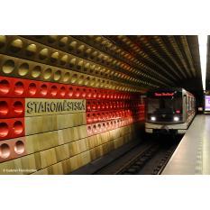 U-Bahn in Prag